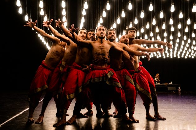 Dancers at Darbar Festival 2019 at Sadlers Wells